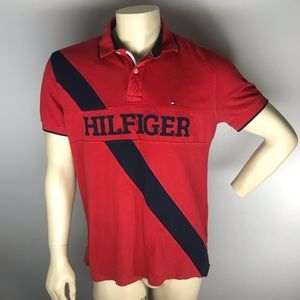 Tommy Hilfiger Polo Shirt Men's Large